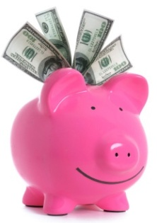 piggy bank money budgeting medical school
